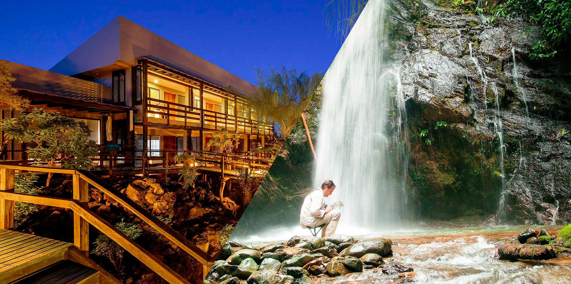 Finch Bay Galapagos Hotel y Mashpi Lodge en Ecuador