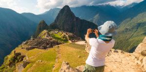 Machu Picchu in Cuzco, Peru.