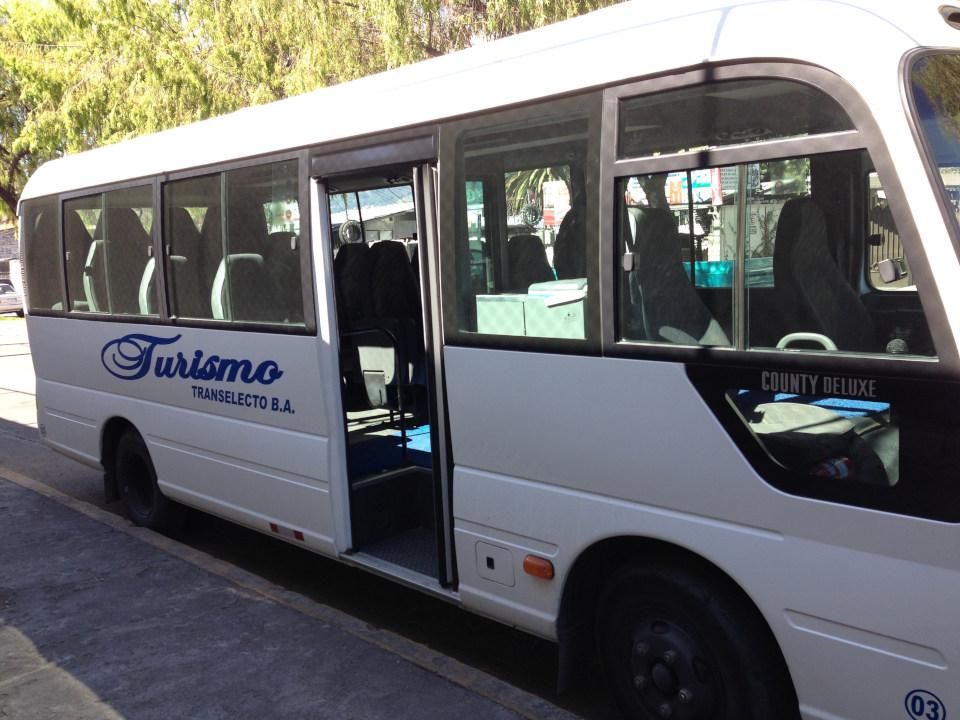 Sightseeing and transfer van, Ecuador