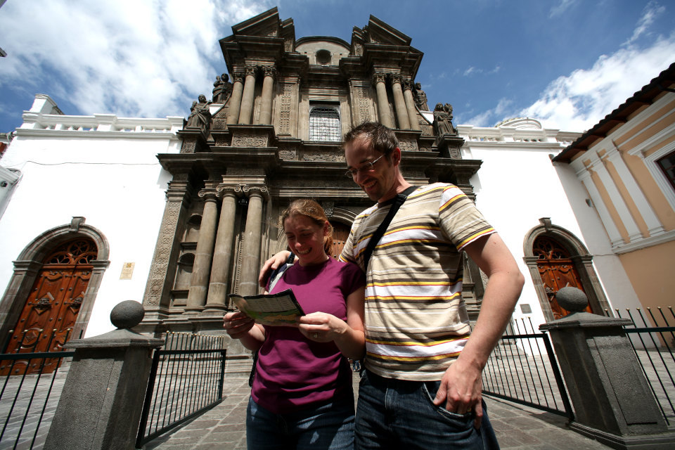 Quito walking tour in the historic center