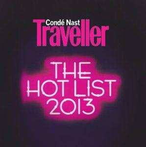 Condé Nast Traveller: The Hot List 2013