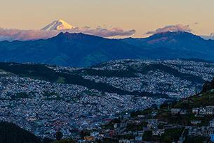 Quito's landscape