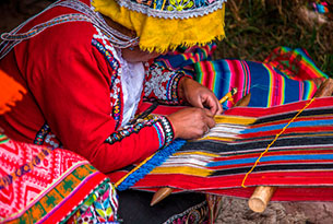 Machu Picchu & Galapagos islands: Awanacancha Textile Center