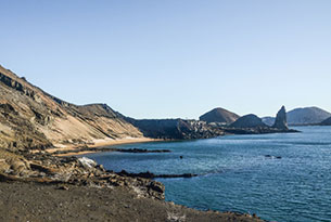Bartolome Island in the Galapagos Islands
