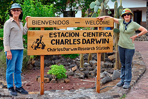 Machu Picchu & Galapagos islands: Charles Darwin Research Station