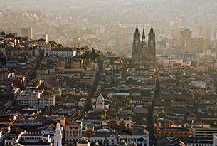 Quito City Skyline