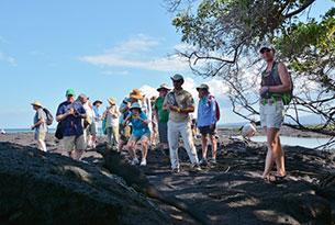 Isla Fernandina en las Islas Galápagos