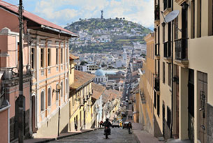 Luxury on Land and at Sea: Quito Old Town