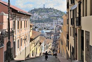Lujo en tierra y mar de Ecuador: Centro histórico de Quito