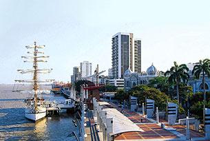 Malecón 2000 en Guayaquil