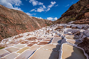 Maras Salt Pans in the Sacred Valley of Peru