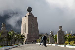 Middle of the World Monument in Ecuador