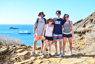 Tour of Punta Pitt in the Galapagos Islands