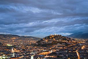 Quito en la noche