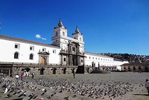 Plaza San Francisco en Quito
