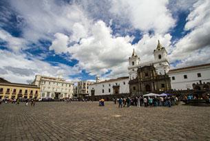 Historic Center in Quito