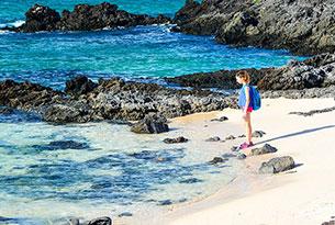 Viaje en solitario: Las Bachas, Galápagos