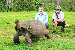 Viaje en solitario: Reserva de tortugas gigantes