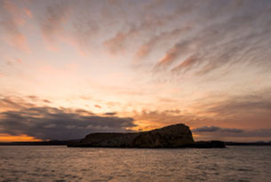 Sombrero Chino Islet in Galapagos Islands