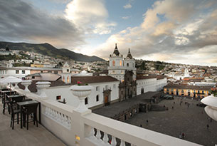 View of Quito's Old Town
