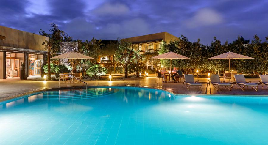 The Finch Bay Galapagos Hotel on Santa Cruz Island in the Galapagos