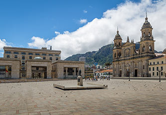 Bogota's Bolivar Plaza