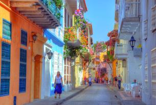 Cartagena City Streets
