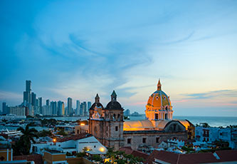 San Pedro Claver church in Cartagena