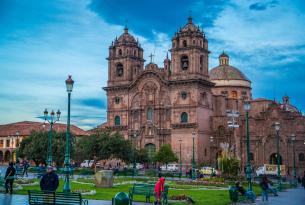 Cathedral and Plaza de Armas in Cuzco, Peru