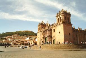 Cathedral in Cuzco, Peru