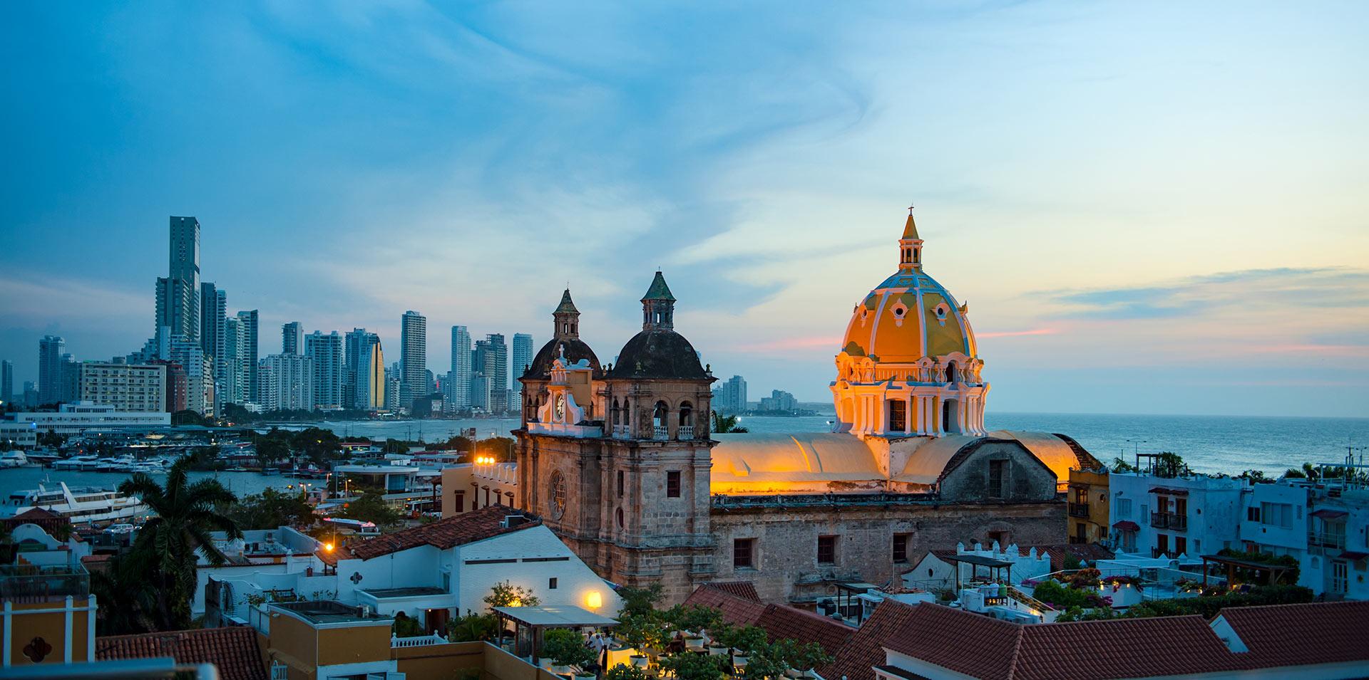 San Pedro Claver church in Cartagena