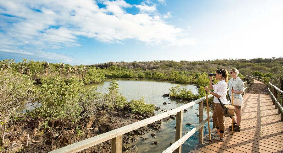 Exploring Santa Cruz Island in the Galapagos