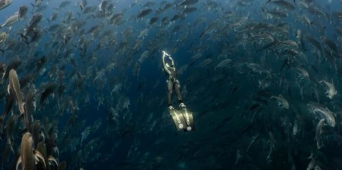 Deep diving in the Galapagos Islands