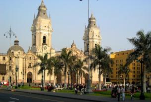 Cathedral in Lima, Peru