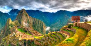 Machu Picchu Citadel in Peru