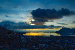 Puno City and Titicaca Lake, Peru