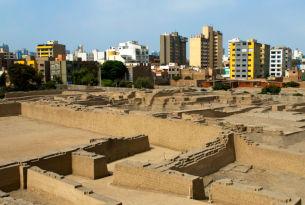 Ruins in Lima, Peru