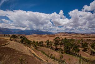 Sacred Valley views in Peru