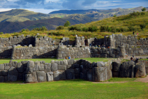 Sacsayhuaman Fortress in Cuzco, Peru