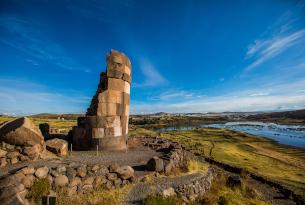 Sillustani Burial Site in Peru