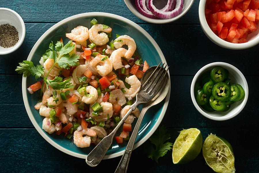 Comida tradicional en Perú