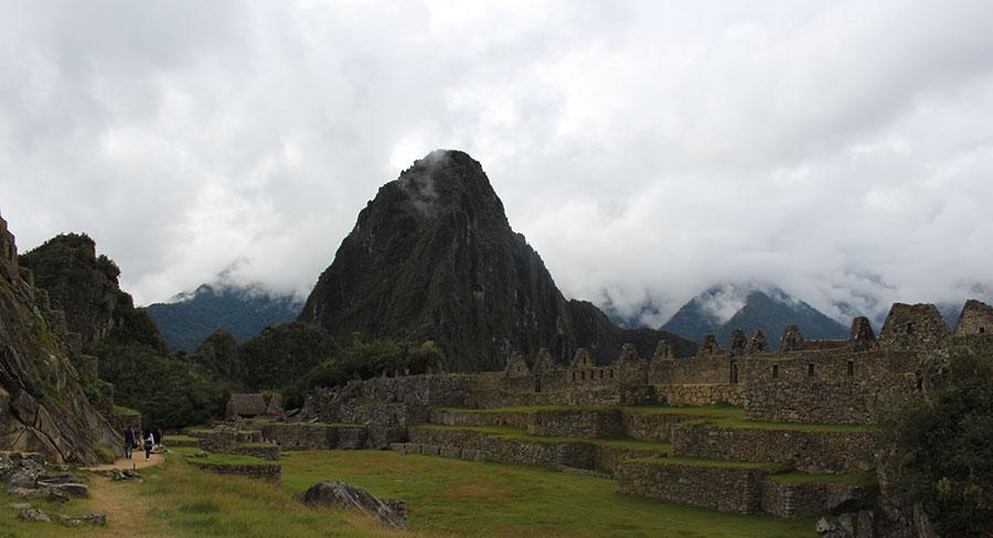 La icónica montaña de Huayna Picchu
