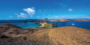 Bartolome Islands in the Galapagos