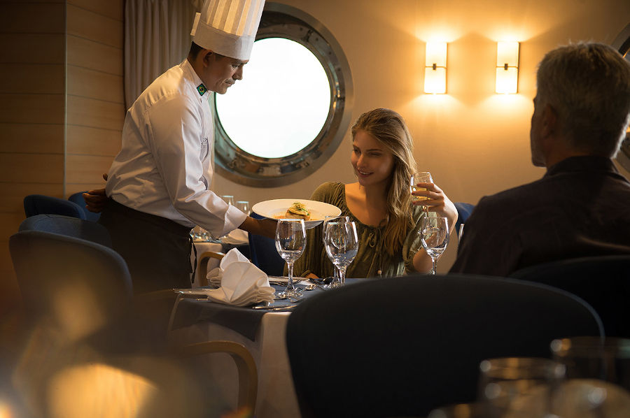 Dining on a Luxury Cruise in Galapagos