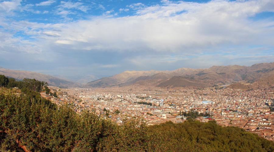 Sunny day in Cuzco, Peru