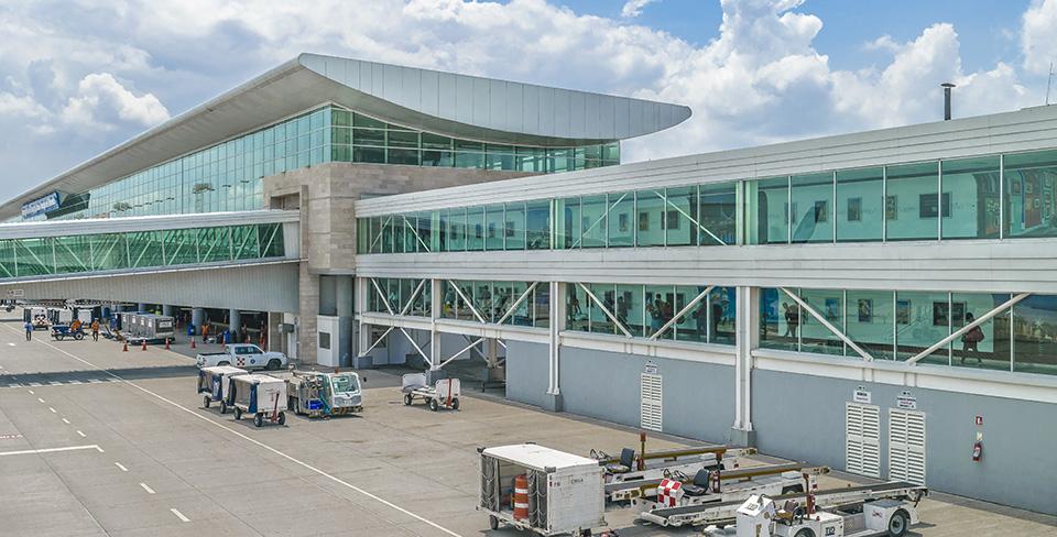 Aeropuerto Jose Joaquin de Olmedo en Guayaquil, Ecuador