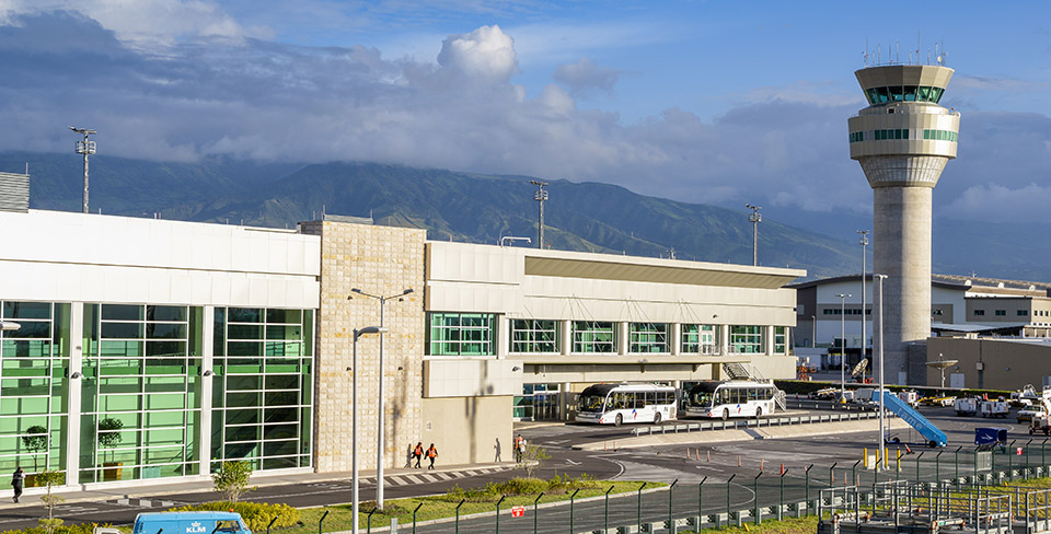 Aeropuerto Mariscal Sucre en Quito, Ecuador