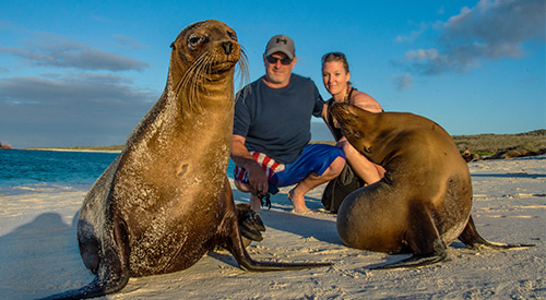The best Galapagos deal for couples or families.
