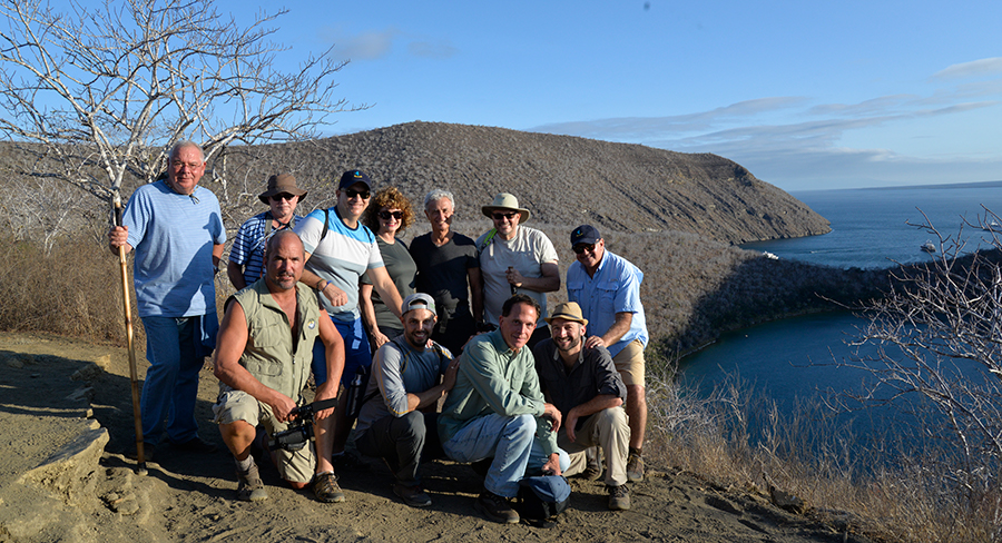 "Naturalist Guides in the Galapagos Islands lead exploration ""parties"""