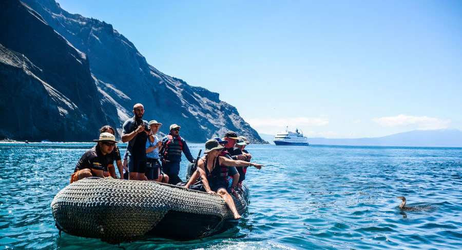 Coastal exploration of the Galapagos Islands
